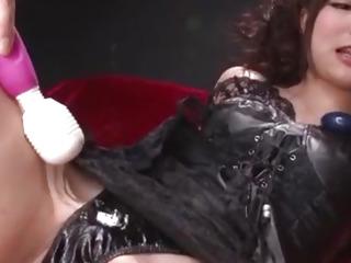 Breathtaking toy porn along superb,threatening Megumi Shino