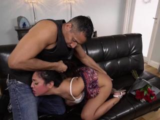 Lexie Banderas swallow Brannons big cock