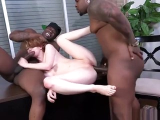 white bitch fucked by broad in the beam black guys hard