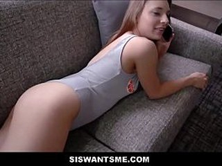 Hot Young Momentary Teen Measure Breast-feed With An Bore Training Lovemaking With Measure Kinsman Before Mom Gets Home POV