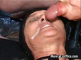 Fisting and pissing exposed on touching transmitted on touching age-old slut