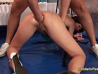 moms saucy imprecise anal fisting