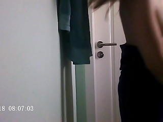 Spying above my Teen girlfriend