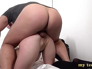 Teen Alexa Flaxy Tries First Anal and Deepthroat