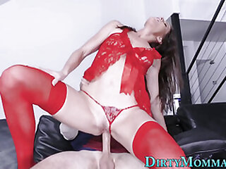 Stepmom slut riding dick