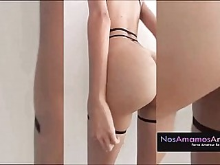 18 Year Ancient Teen Slut Gets An Anal Plug Up Her Ass And Enjoys It, Send The Blear To Her Boyfriend And He Viralizes It